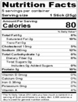 Benny's Chipotle Meat Straws Nutrition Information