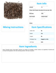 Semi Sweet 4 m Chocolate Chips Nutrition Information