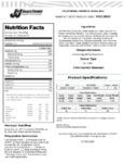 J & J Snack Foods California Churro Bun Nutrition