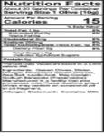 Belosa 12 oz. Gourmet Cream Cheese Stuffed Queen Olives Nutrition Information
