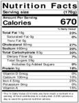 David's Cookies Unsliced Caramel Apple Crumb Cake Nutrition