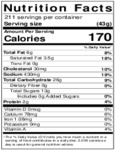 David's Cookies Ginger Molasses Cookie Dough Nutrition Information