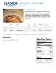Handy Whale Soft Shell Domestic Crabs Nutrition Information