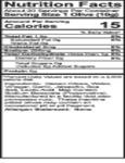 Belosa 12 oz. Gourmet Jalapeno & Garlic Stuffed Queen Olives Nutrition Information