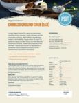 Hungry Planet Chorizo 5 lb. Plant-Based Vegan Sausage Chub Nutrition Information