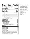 JUST Egg Vegan Liquid Scramble Nutrition