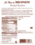 Nutrition / Ingredient Label