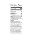Hellmann's 1 Gallon Mango Pineapple Vinaigrette Dressing Nutrition Information