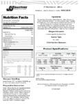 J & J Snack Foods Mini Churro Nutrition Information