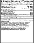 Belosa 12 oz. Gourmet Mushroom Stuffed Queen Olives Nutrition Information