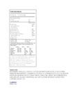 Nabisco Honey Maid 4.8 oz. Graham Cracker Sleeve Nutrition Information