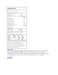 Nabisco Oreo 35 lb. Cake Base Crumbs Nutrition Information