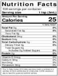 Nielsen-Massey 18 oz. Almond Extract Nutrition Information