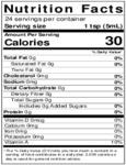 Nielsen-Massey 4 oz. Lemon Extract Nutrition Information