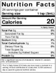 Nielsen-Massey 4 oz.  Madagascar Bourbon Vanilla Paste Nutrition Information