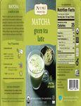Numi Matcha Latte Concentrate Nutrition