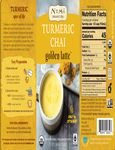 Numi Turmeric Latte Concentrate Nutrition