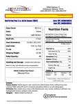 Kettle Coconut Nutritional Spec