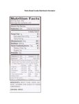 Panko Bread Crumbs Nutritional Information