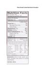 Panko Bread Crumbs Nutritional Information