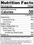 Passion Fruit Puree Nutrition Information