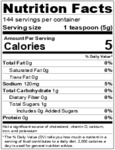 Pilduski 24 oz. Nutrition