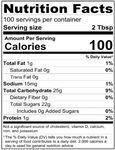 Torani Puremade Dark Chocolate Sauce Nutrition Information