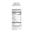 Regal Chives 10 lb Nutrition