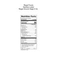 Regal Ground Sage 6 oz. Nutrition Info