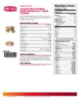 Rich's Jacqueline Vegan Oatmeal Raisin Cookie Dough Nutrition Information