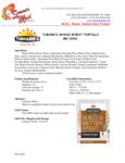 Tumaro's 12-Count 12 Whole Wheat Tortilla Wraps Nutrition Information