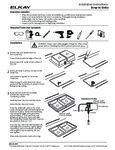 Elkay 1000005236 Drop-In Sink Instructions