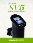 120SV5 Manual