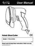 Avantco 177KSLICER80 Manual