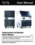 UC Series Ice Machine Manual