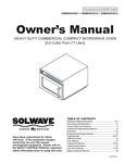 Solwave Owner's Manual