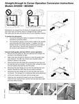 Corner Conversion Instructions