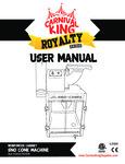Carnival King SCM350R Manual