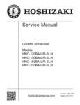Hoshizaki HNC Series Service Manual