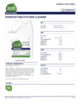 Disinfecting Kitchen Cleaner 7th Generation