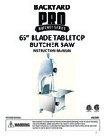 Backyard Pro 554BSSW65AL Manual