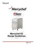 eikon e2 recipe guide