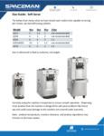 7156210CX Size Guide Soft Serve