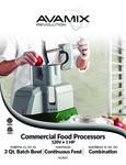 Avamix Revolution Manual