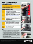 Cleaning Quick Guide