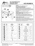 Alera ALEVA286015 Hutch Instructions