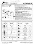Alera ALEVA286615 Hutch Instructions