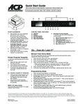 Amana HC1015 1000W Quick Start Guide