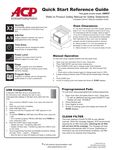 Quick Start Reference Guide