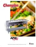 APW Champion Series Info
